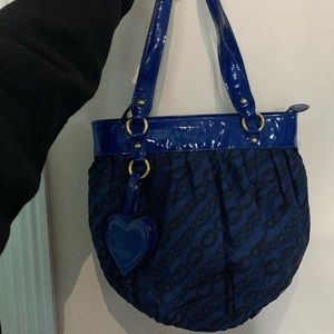 MOSCHINO Blue Pouch Bag